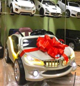 Электромобиль детский  с пультом управления BMW i8