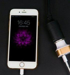 5В 2.1A Dual USB Автомобильное Зарядное устройство
