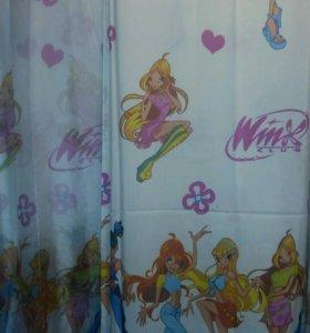 Продам шторы и Тюль Winx