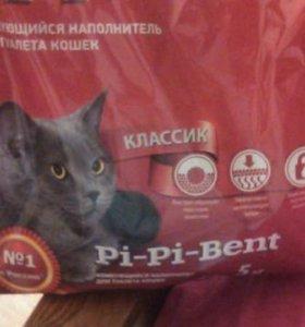 Наполнитель комкующийся для кошачьего лотка