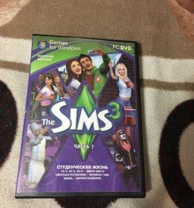 Диск The sims 3 ПРОДАМ СРОЧНО!