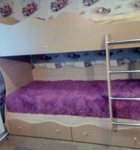 2-ух ярусная кровать