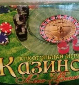 """Алкогольная игра """"Казино Алко - Вегас"""" новая"""
