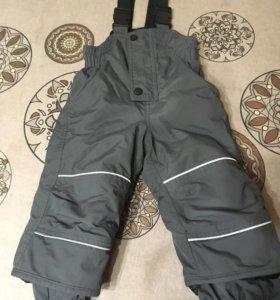 Полукомбинезон (зимние брюки)