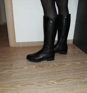 Сапоги кожаные 41 размер