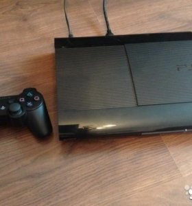 PS3 Super Slim 500g + Игры