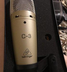 Микрофон behinger c3