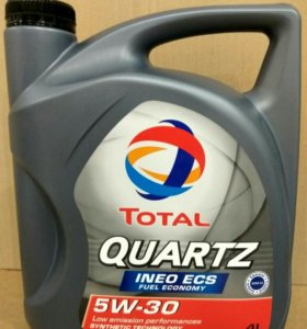 Моторное масло TOTAL Quartz INEO ECS 5W-30, 4л