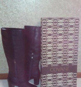 кожаные сапоги,куплены в магазине Комфорт,д
