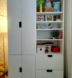 Шкаф из икеи СТУВА для детей