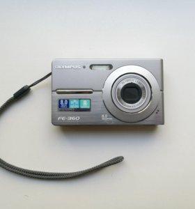 Цифровой фотоаппарат в рабочем состоянии