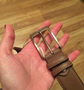 Ремень мужской кожаный - Италия