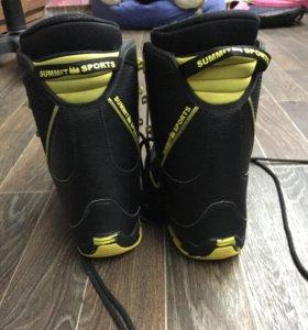 Сноубордические ботинки/сноуботы