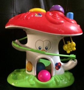Игрушка развивающая «гриб»