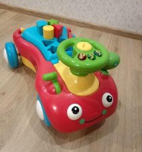 Машинка-каталка Elc