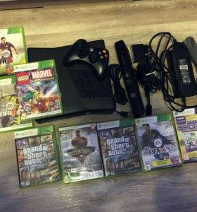 Xbox 360+Kinect+6 игр +Disney Infinity