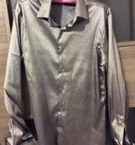 Мужская рубашка на 46-48 размер