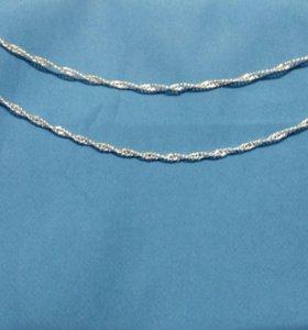 Цепочка серебрение арт 6