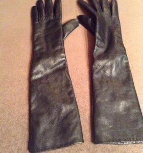 Перчатки новые женские 7.5р теплые