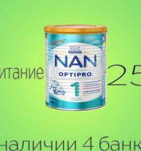 Питание Nan premium №1.