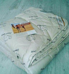 Одеяло верблюжья шерсть евро