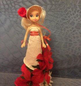 Праздничная кукла в подарок ✨