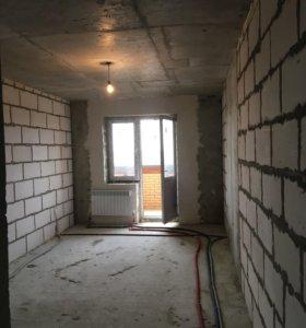 Квартира, 1 комната, 58.3 м²