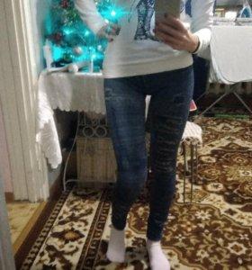 Леггинсы под джинсы