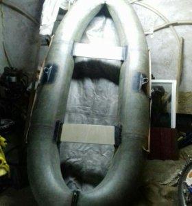 Лодка двухместная