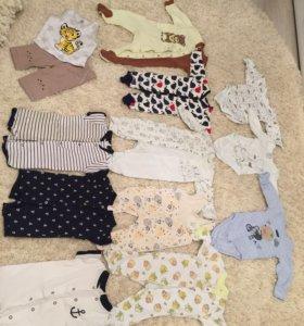 Костюмы для мальчика 0-6 месяцев