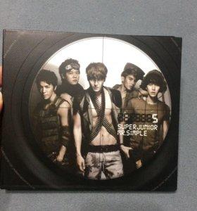 Альбом Super Junior - Mr Simple версия B. K pop