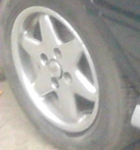 Колеса на летней резине 4х108 Audi, Peugeot, Ford