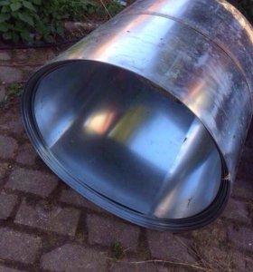 Оцинкованное железо ( рулон 50 м.)