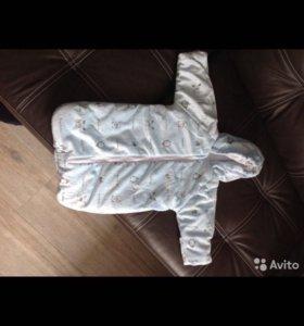 Конверт для малыша, спальник длямалыша, на выписку