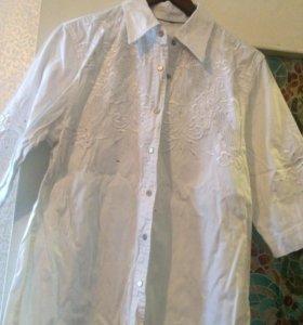 Рубашка джинсовая😻