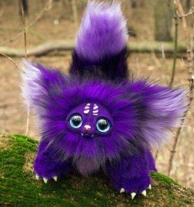 Фиолетовый зверёк