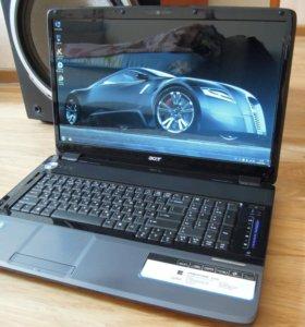 """Ноутбук Acer aspire 8530G Дисплей 18.4"""""""