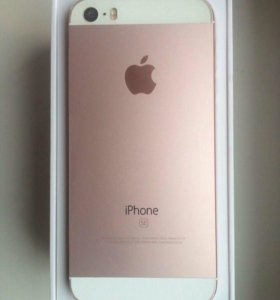iPhone SE розовый