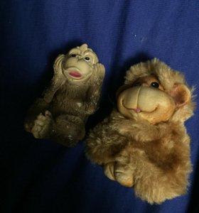 Фигурки обезьянки