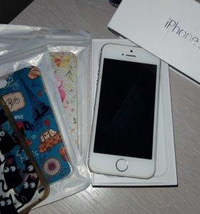 iPhone 5S 32GB- оригинал  10 т.₽