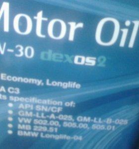 GM 5w30 синтетика 5 литров