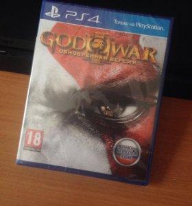 God of War III обновлённая версия (ps4)