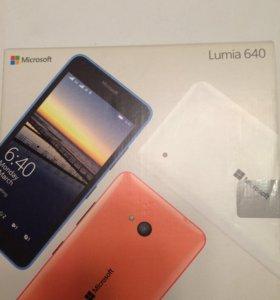 Microsoft lumia 640 коробка
