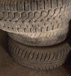 Зимние р 13  4 колеса