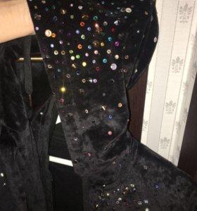 Дизайнерский костюм(3)бархат или велюр 🤷🏼♀️