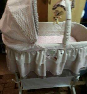 Люлька для новорожденного ребенка