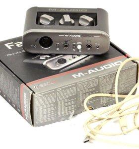 Звуковая карта M-Audio Fast Track USB 2