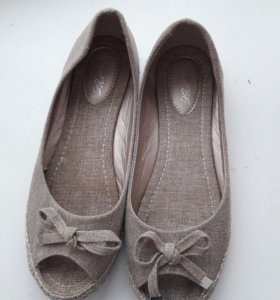 Льняные туфли