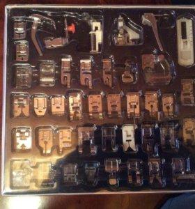 Набор лапок к швейной машине 42 предмета