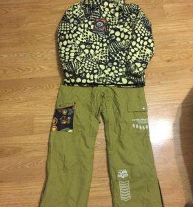 Куртка и штаны зимние сноубордические